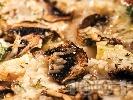 Рецепта Киш с гъби, риба и картофи на фурна